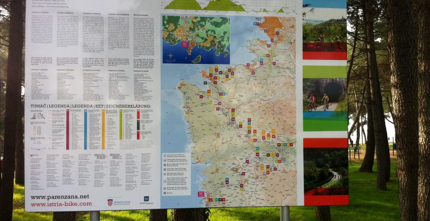 Parenzana Project - cycling route