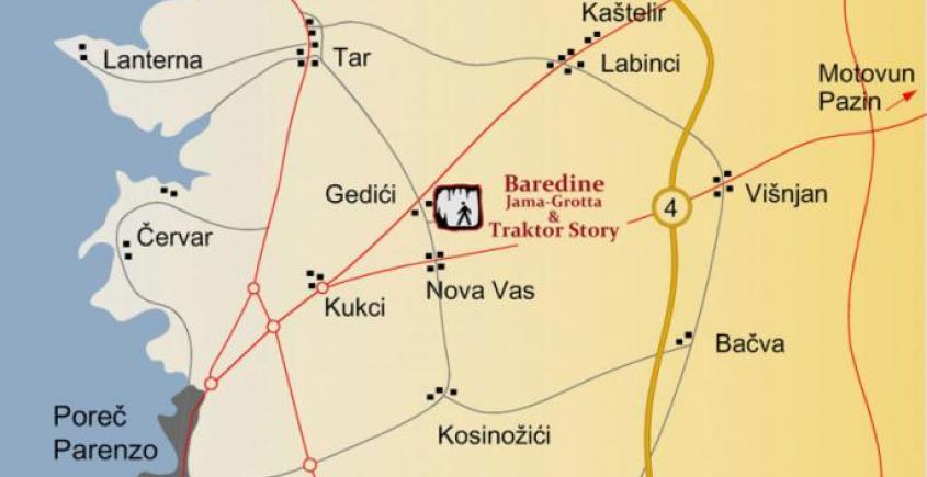 Baredine Cave at Nova Vas