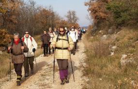 Passeggiata lungo la Parenzana