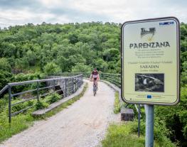 Parenzana in Vižinada
